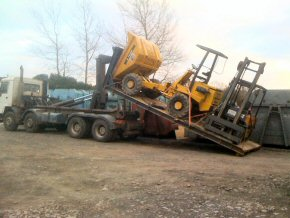 Plant hire and transport